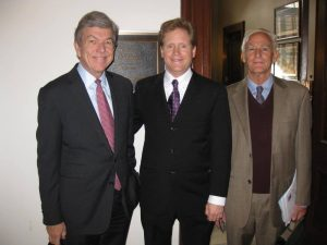 Meeting with Senator Roy Blunt and staff to talk about the Carbon Fee and Dividend during Citizens' Climate Lobby Day in Washington D.C..