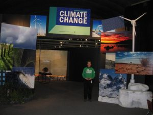 St. Louis Science Center Climate Change exhibit.